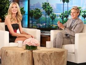 Ellen lice-shames Heidi Klum
